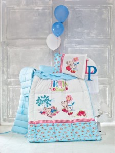 Set posteljina za bebe Strawberry